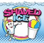 2' × 2' Shaved Ice Banner, Ice Man Design