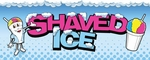 2-Foot by 5-Foot Shaved Ice Man Banner