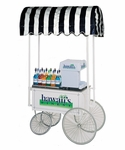 36-Inch Shaved Ice & Snow Cone Wagon - 2936HF