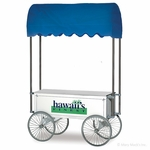 57-Inch Shaved Ice & Snow Cone Wagon  - 2129HF