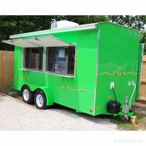 shaved ice concession trailers
