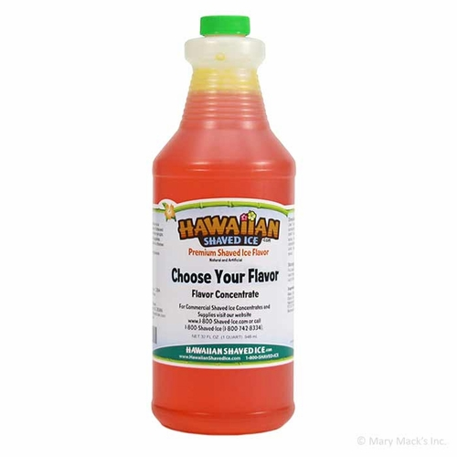 1 Quart of Shaved Ice and Snow Cone Concentrate