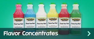 Shaved Ice & Snow Cone Flavor Concentrates