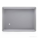 Large Gray Shaved Ice and Snow Cone Drip Tray