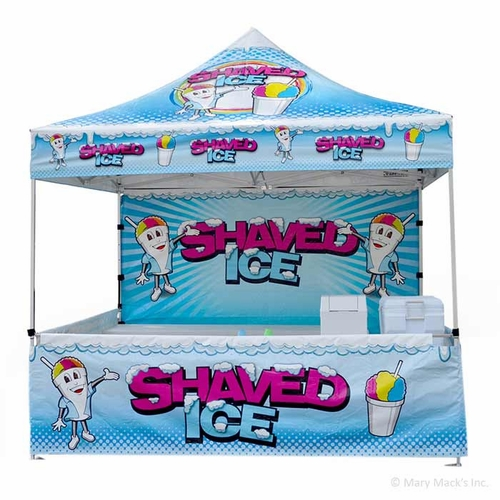 Shaved Ice Tent