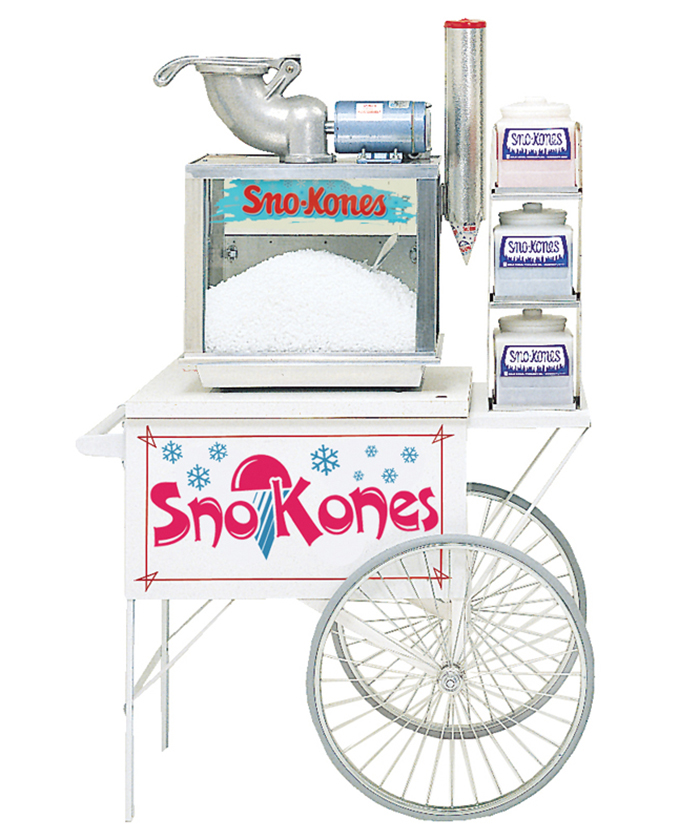 snow cone machine cart for sale