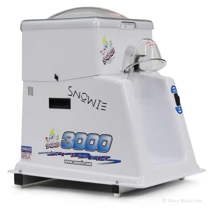 Professional shaved ice machine