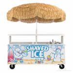 Shaved Ice Vending Cart