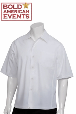 Bold American Cook Shirt With Logo and Personalization