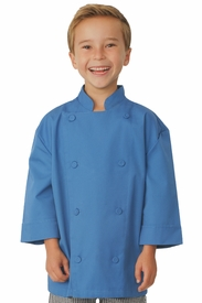 Kid's Chef Coat in BLUE