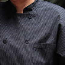 Executive PINSTRIPE Chef's Jacket