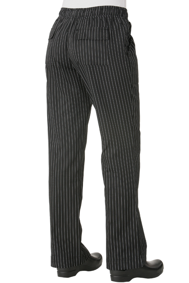 Women's Pinstripe Chef Pants