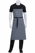 Portland Blue Denim Bib Apron