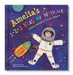 NEW! 1-2-3 Blast Off With Me Personalized Book