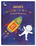 1-2-3 Blast Off With Me Coloring and Activity Book