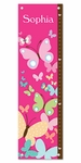 All-A-Flutter Butterflies Personalized Growth Chart