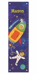 Blast Off Personalized Growth Chart