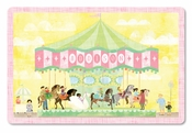 Carousel Personalized Placemat for girls