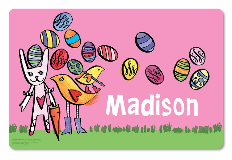 Egg-cellent Easter Personalized Placemat