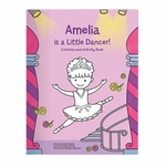 I'm A Little Dancer Coloring and Activity Book