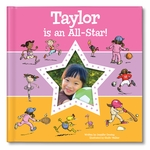 NEW! I'm an All-Star Personalized Book - Pink