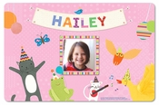 Let's Celebrate! Personalized Placemat - Pink