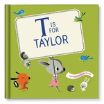 New! M Is for Me Personalized Book