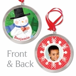 Magical Snowman Personalized Ornament