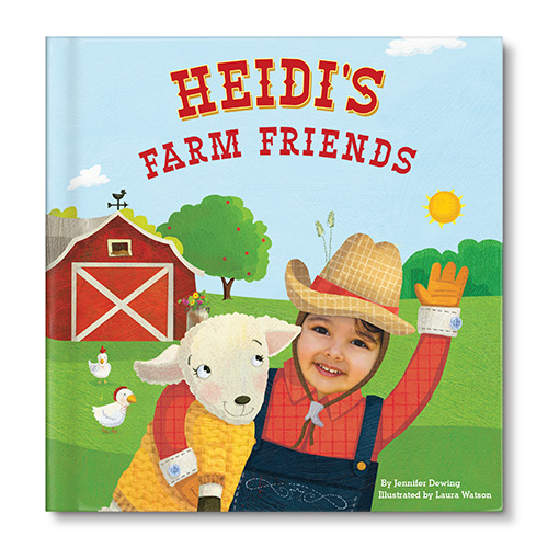 NEW! My Farm Friends Personalized Book