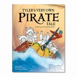 NEW! My Very Own Pirate Tale Personalized Coloring Book