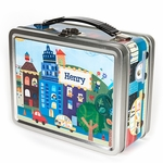 Cars & Vehicles Personalized Lunch Box