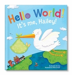 NEW! Hello World! Personalized Board Book