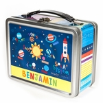 Outerspace Personalized Lunch Box