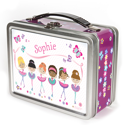Prima Ballerinas Personalized Lunch Box