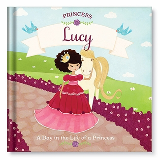 NEW! Princess Personalized Book