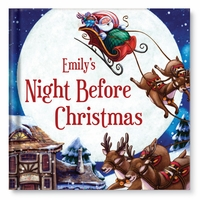 NEW! My Night Before Christmas Personalized Book