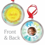 Peaceful Christmas Personalized Ornament