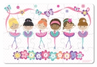 NEW! Prima Ballerina Personalized Puzzle