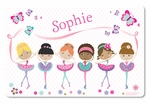 Prima Ballerinas Personalized Placemat