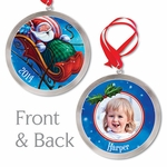 Santa's Coming! Personalized Ornament