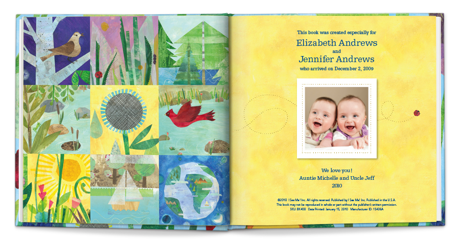 Who Loves Me? Personalized Book for Twins