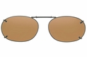 Cocoons L428 Clip-Ons Rectangle Sunglasses