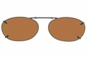 Cocoons L6108 Clip-Ons Oval Sunglasses
