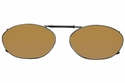 Cocoons L6119 Clip-Ons Oval Sunglasses