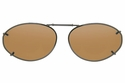 Cocoons L6168 Clip-Ons Oval Sunglasses
