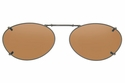 Cocoons L698 Clip-Ons Oval Sunglasses