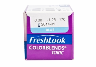 Freshlook Colorblends Toric Contact Lenses DISCONTINUED