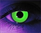 Rave Green  RX Theatrical Contact Lenses