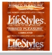 LifeStyles Ribbed Pleasure (Vibra-ribbed) Condoms