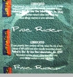 Pale Rider Lubricated Condom